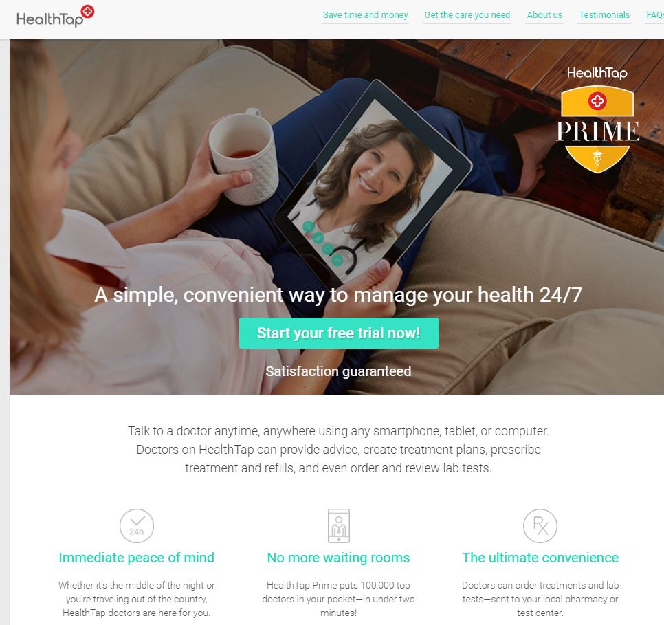 30,000 new patients? Free consults? Tele-health/Telemedicine takes off. (But can doctorscompete?)